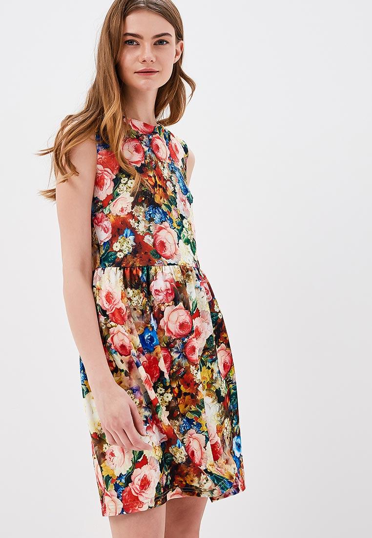 Платье SK House #2211-2247 мульти