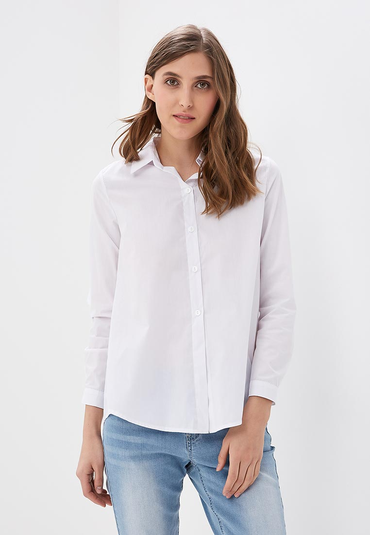Женские рубашки с длинным рукавом SK House #2211-233 бел.