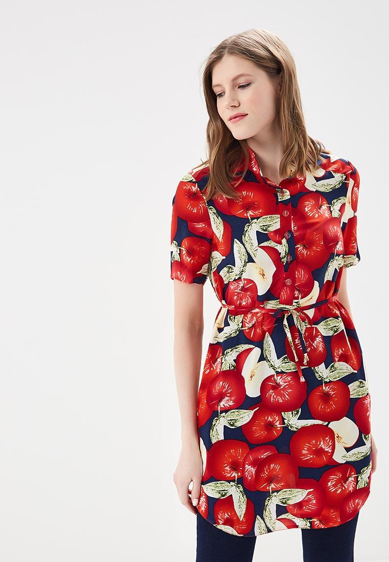 Платье SK House #2211-3031042 син.