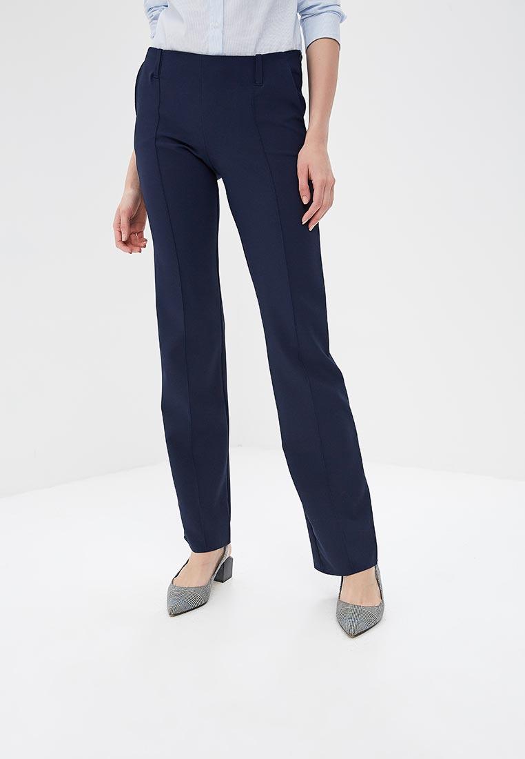 Женские широкие и расклешенные брюки SK House #2211-720 син.