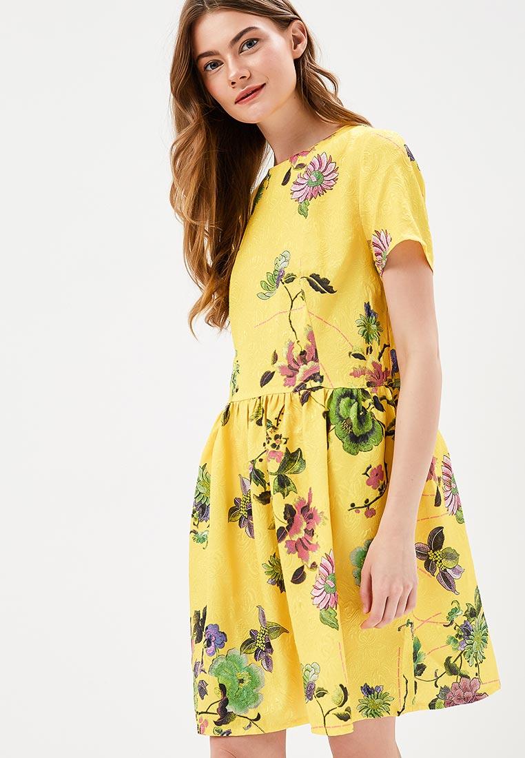 Платье SK House #2211-GR1682 жел.
