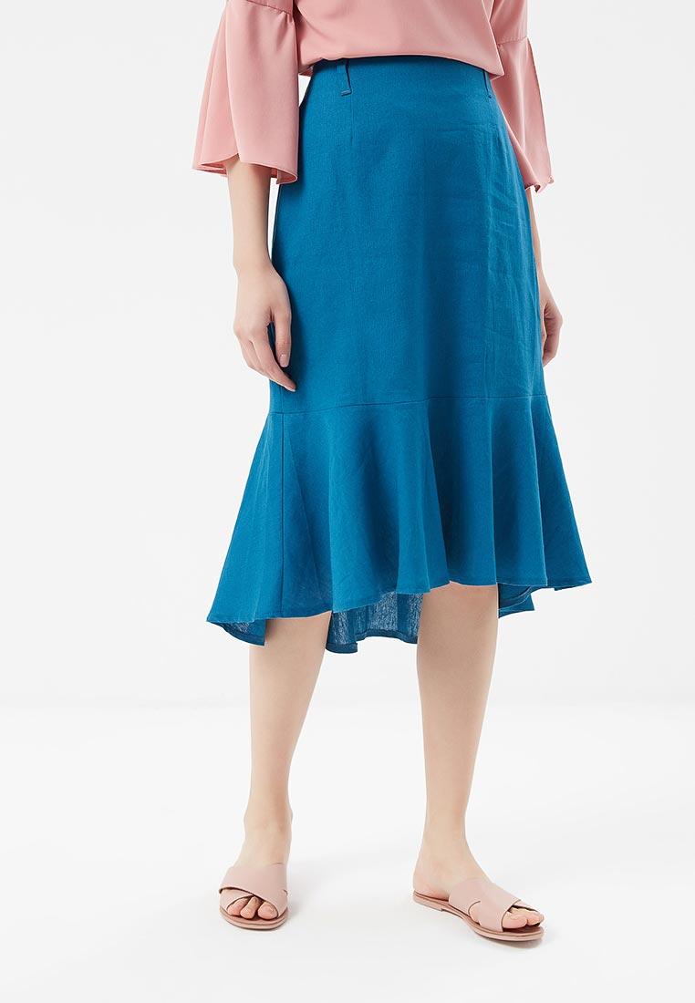 Узкая юбка SK House #2211-GR2101 гол.