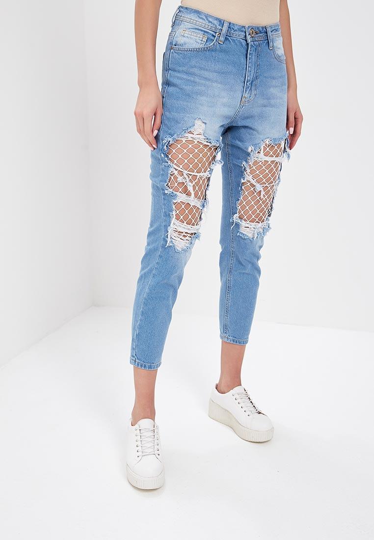 Зауженные джинсы SK House #2211-8129 син