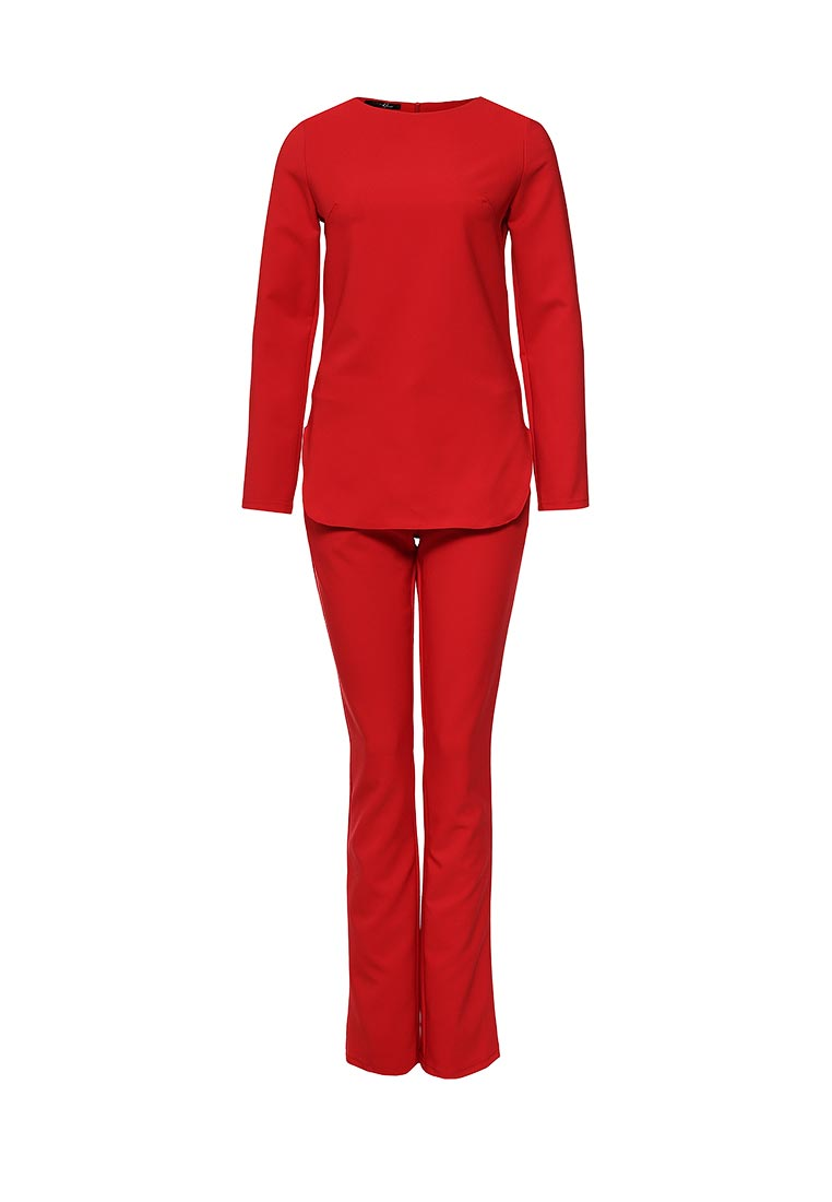 Костюм с брюками SK House #2211-6116 крас.
