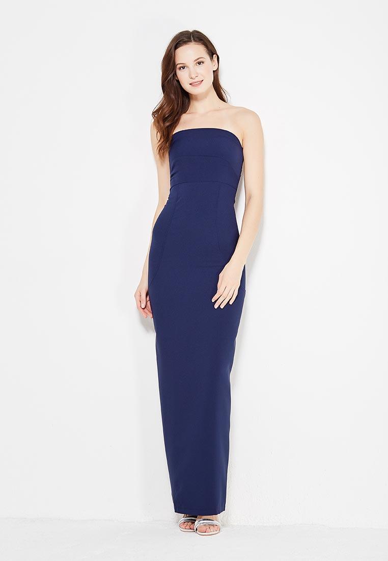 Платье-макси SK House #2211-2259 син.