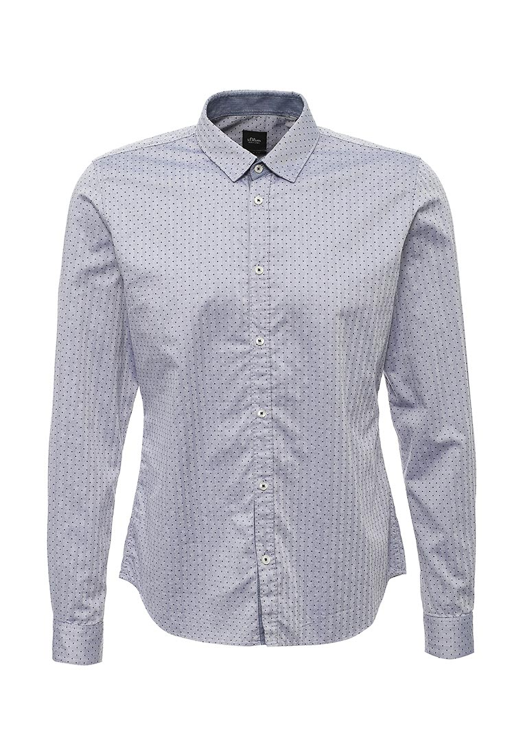 Рубашка с длинным рукавом s.Oliver Black Label 12.708.21.2006