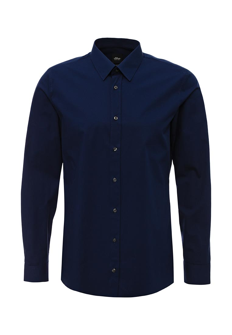 Рубашка с длинным рукавом s.Oliver Black Label 12.708.21.3264