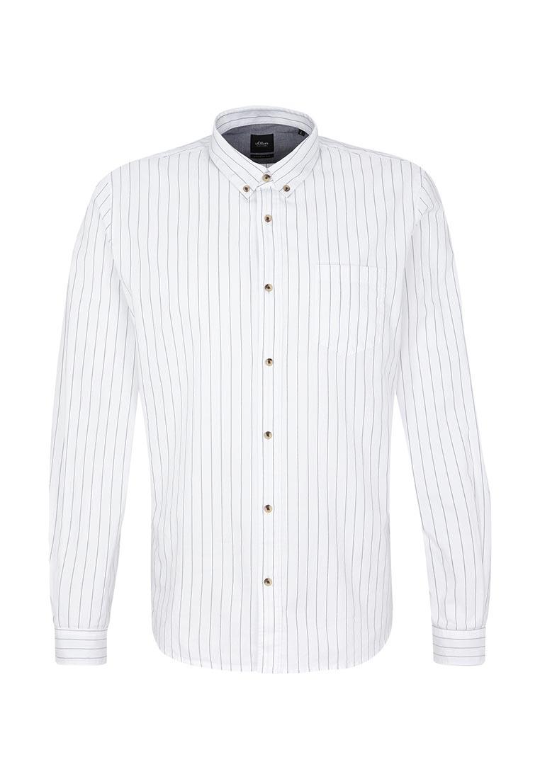 Рубашка с длинным рукавом s.Oliver Black Label 12.709.21.2013