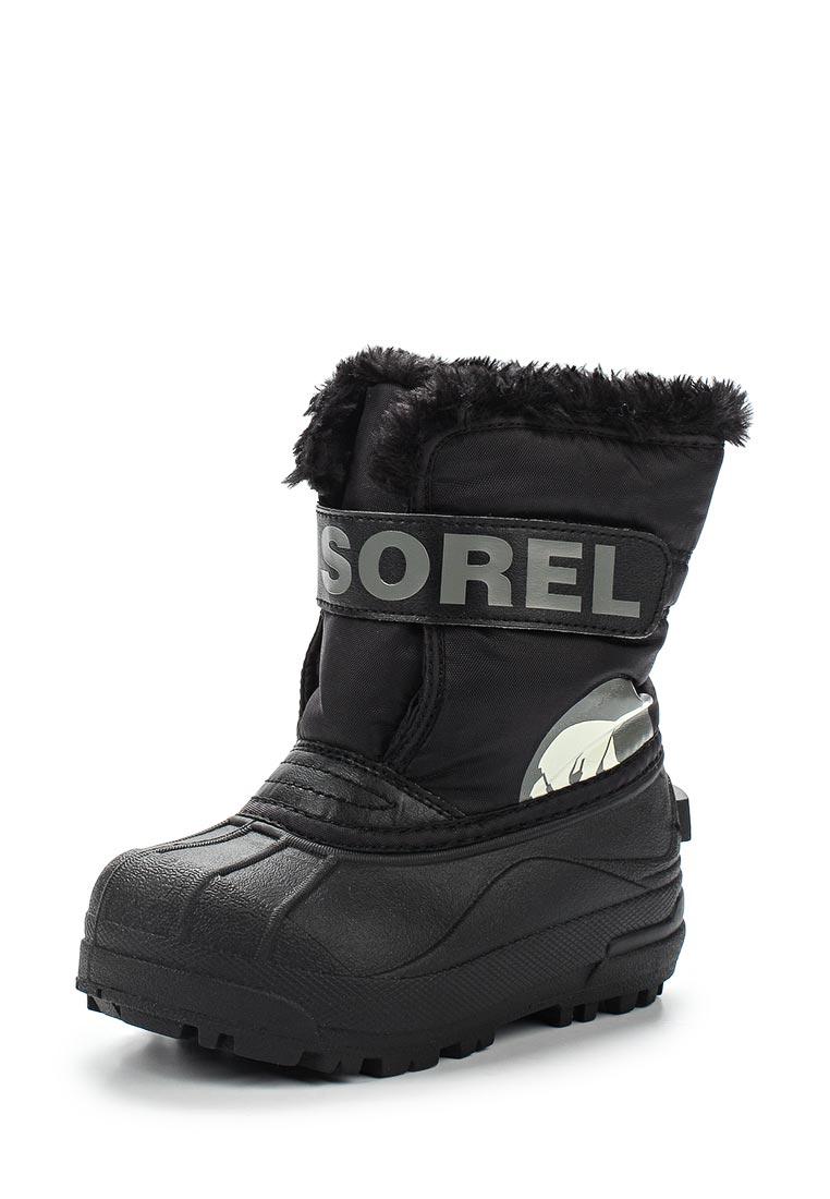 Дутики для девочек  Sorel 1638111