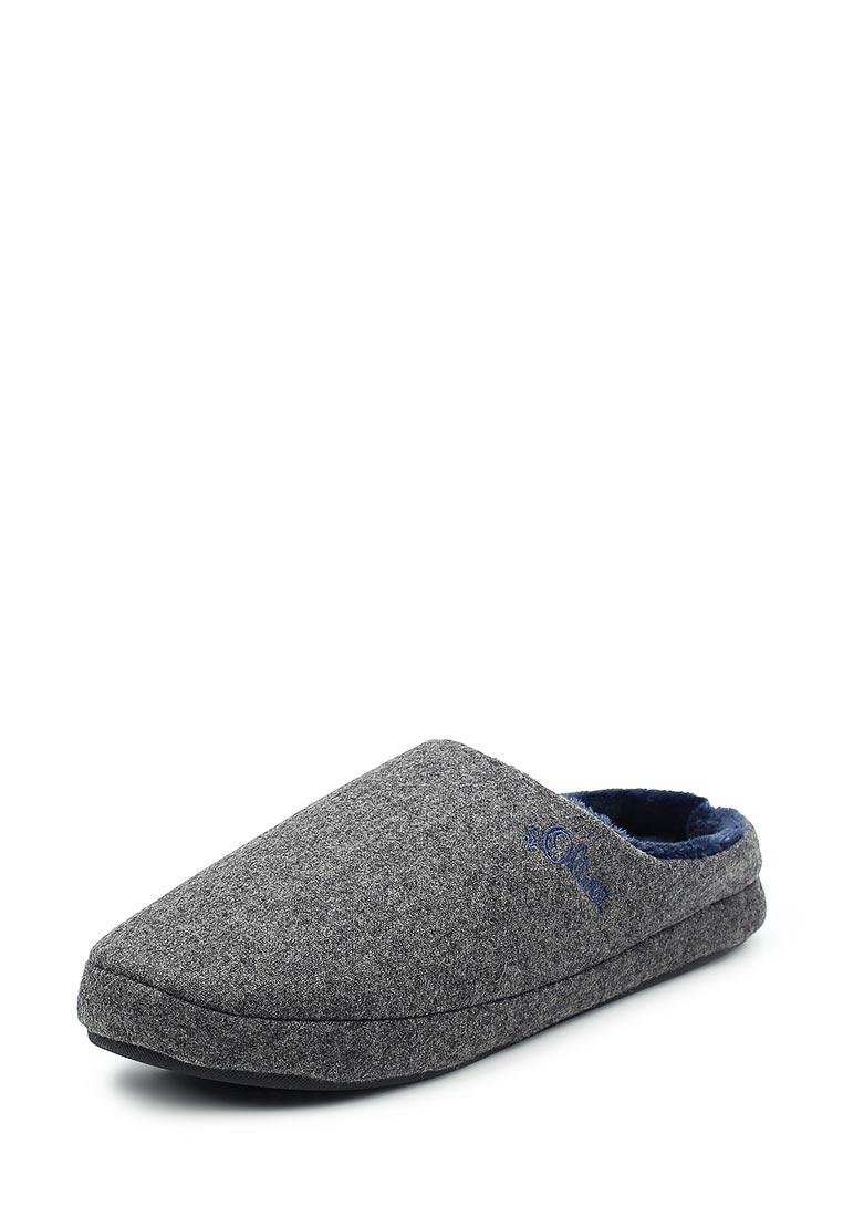 Мужская домашняя обувь s.Oliver (с.Оливер) 5-5-17302-39-200