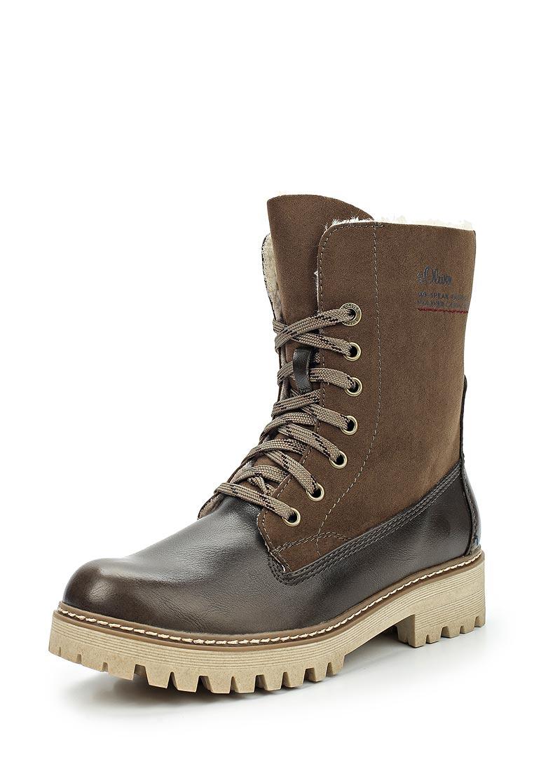 Женские ботинки s.Oliver (с.Оливер) 5-5-26222-29-721