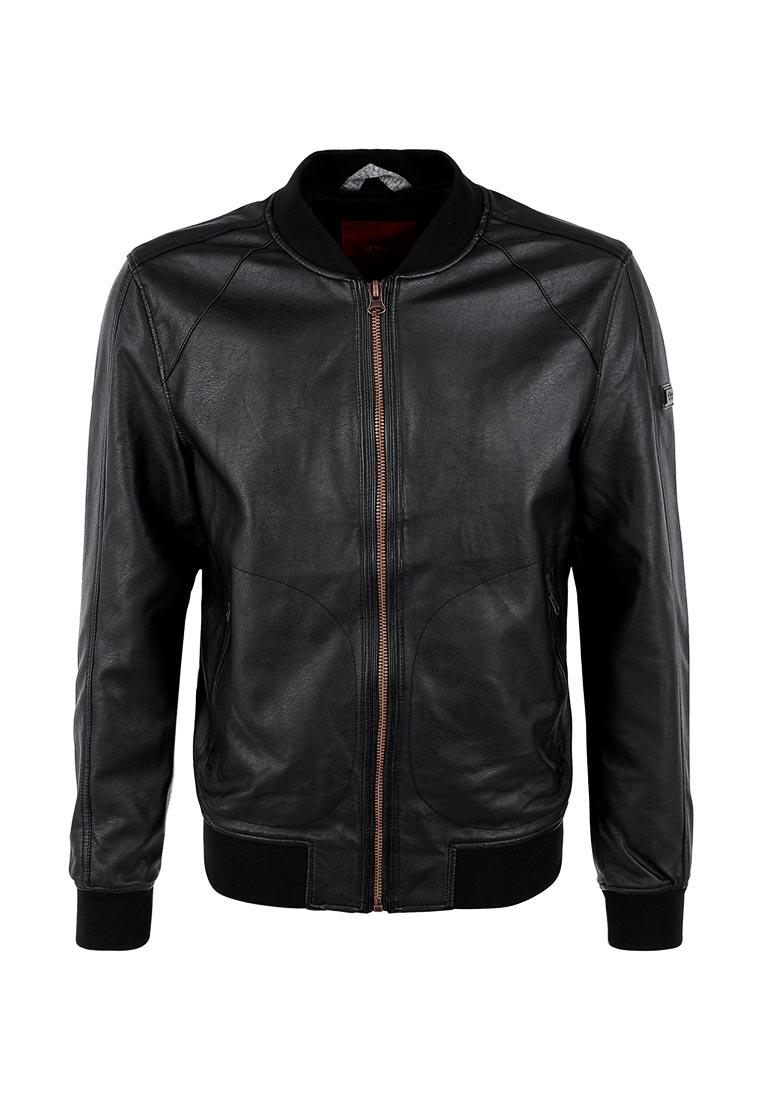 Кожаная куртка s.Oliver (с.Оливер) 28.703.51.1731