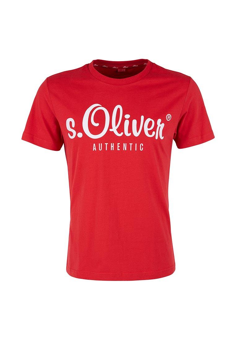 Футболка с коротким рукавом s.Oliver (с.Оливер) 20.702.32.5340