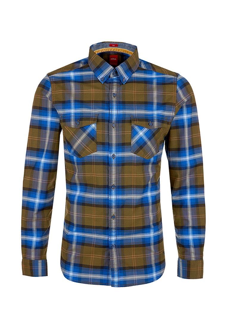 Рубашка с длинным рукавом s.Oliver (с.Оливер) 13.710.21.4037