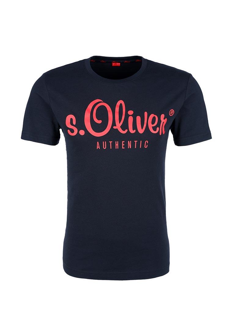 Футболка с коротким рукавом s.Oliver (с.Оливер) 20.709.32.5944