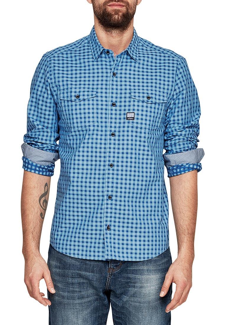 Рубашка с длинным рукавом s.Oliver (с.Оливер) 13.802.21.2918