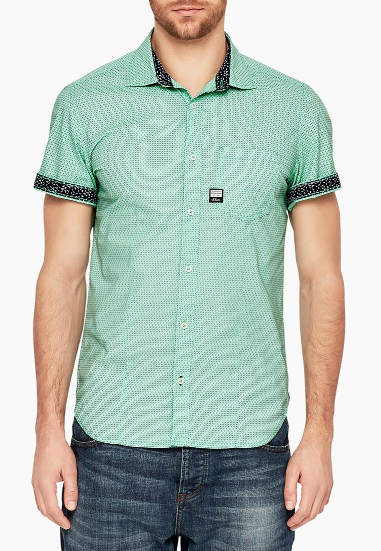 Рубашка с коротким рукавом s.Oliver (с.Оливер) 13.803.22.2104