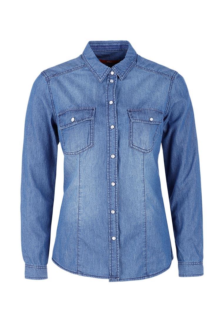 Женские джинсовые рубашки s.Oliver (с.Оливер) 21.702.11.4447