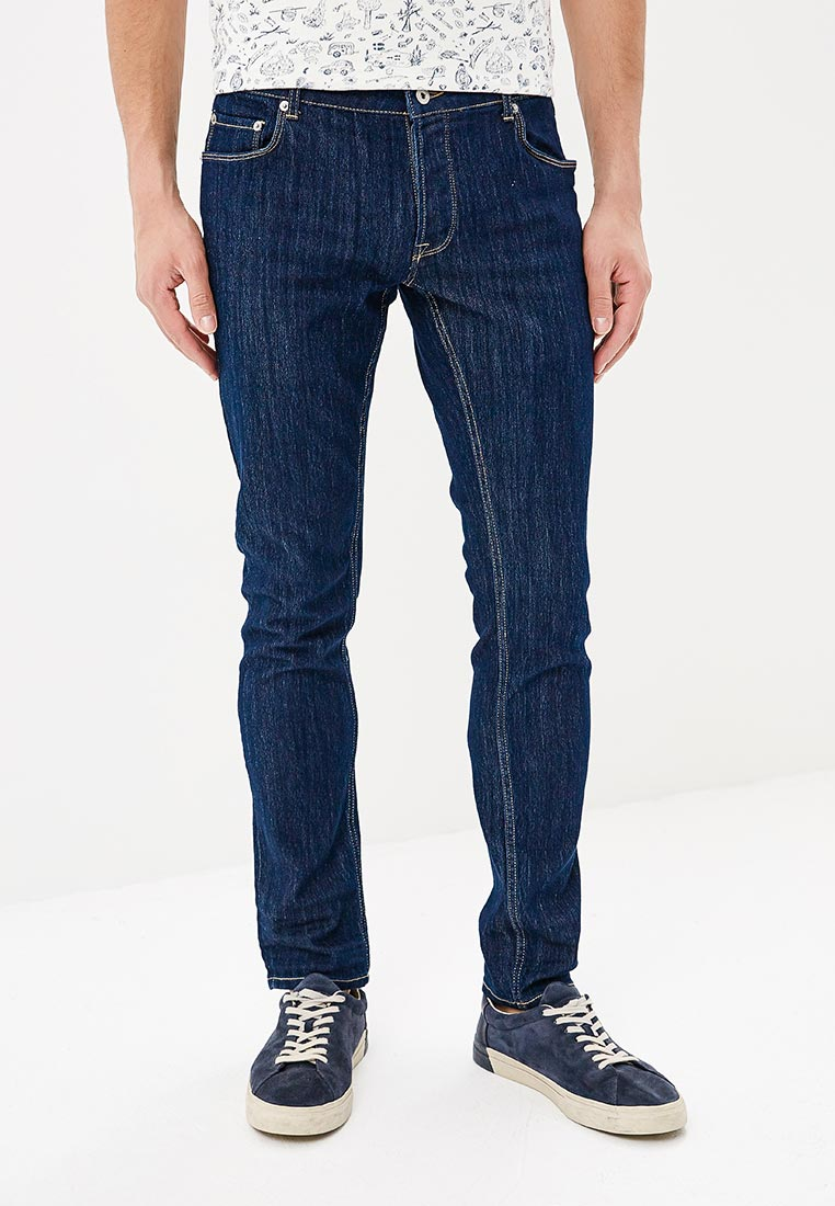 Зауженные джинсы Solid 6186119