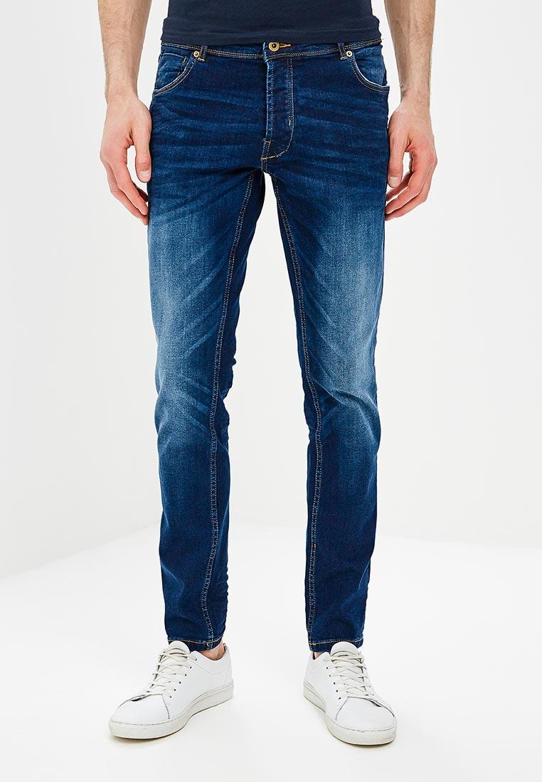Зауженные джинсы Solid 6186143