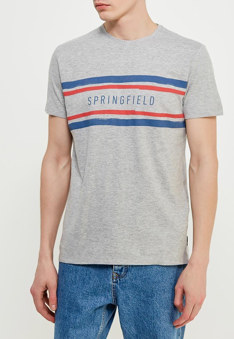 Футболка с коротким рукавом Springfield (Спрингфилд) 243809