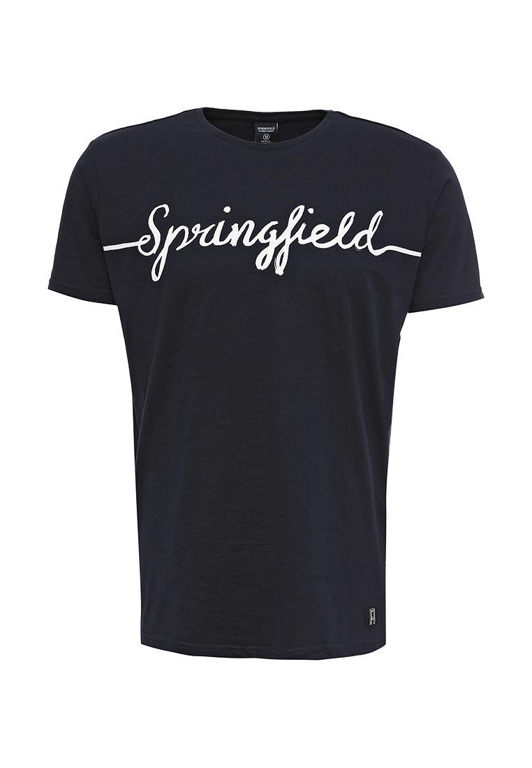 Футболка с коротким рукавом Springfield (Спрингфилд) 249432
