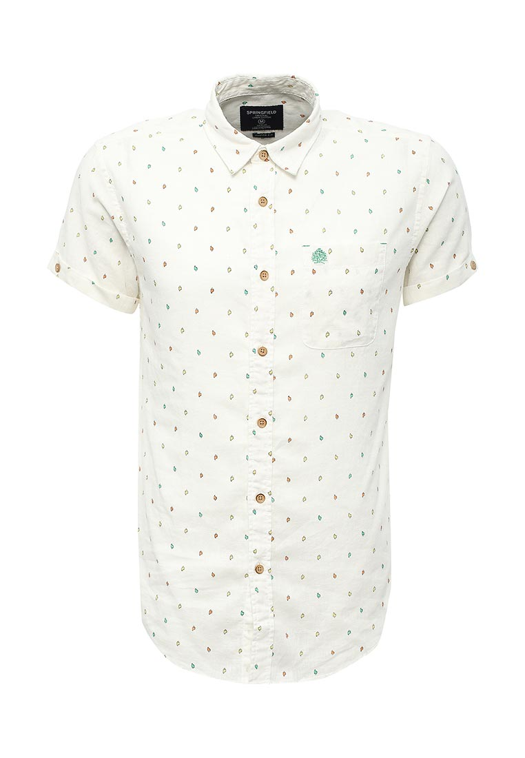 Рубашка с коротким рукавом Springfield (Спрингфилд) 379840