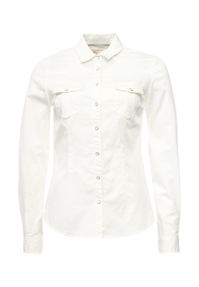 Женские джинсовые рубашки Springfield (Спрингфилд) 29017