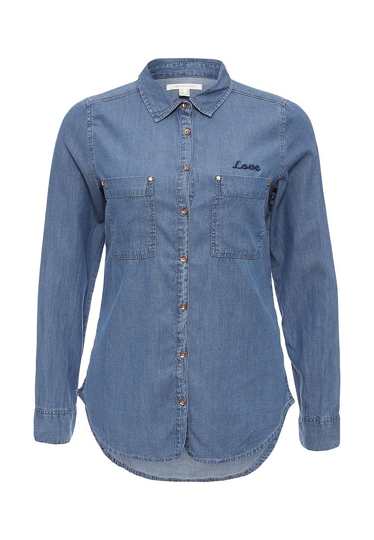 Женские джинсовые рубашки Springfield (Спрингфилд) 29033