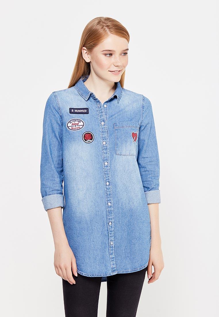 Женские джинсовые рубашки Springfield (Спрингфилд) 22071