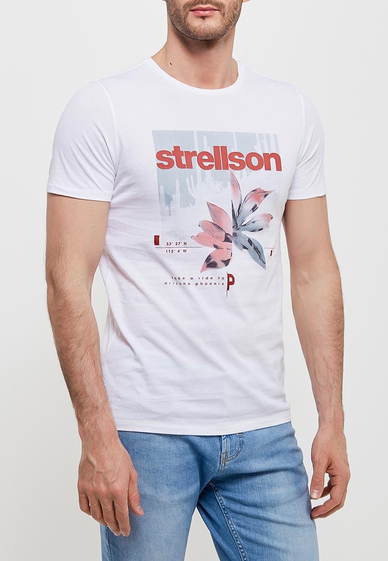 Футболка с коротким рукавом Strellson 30009100