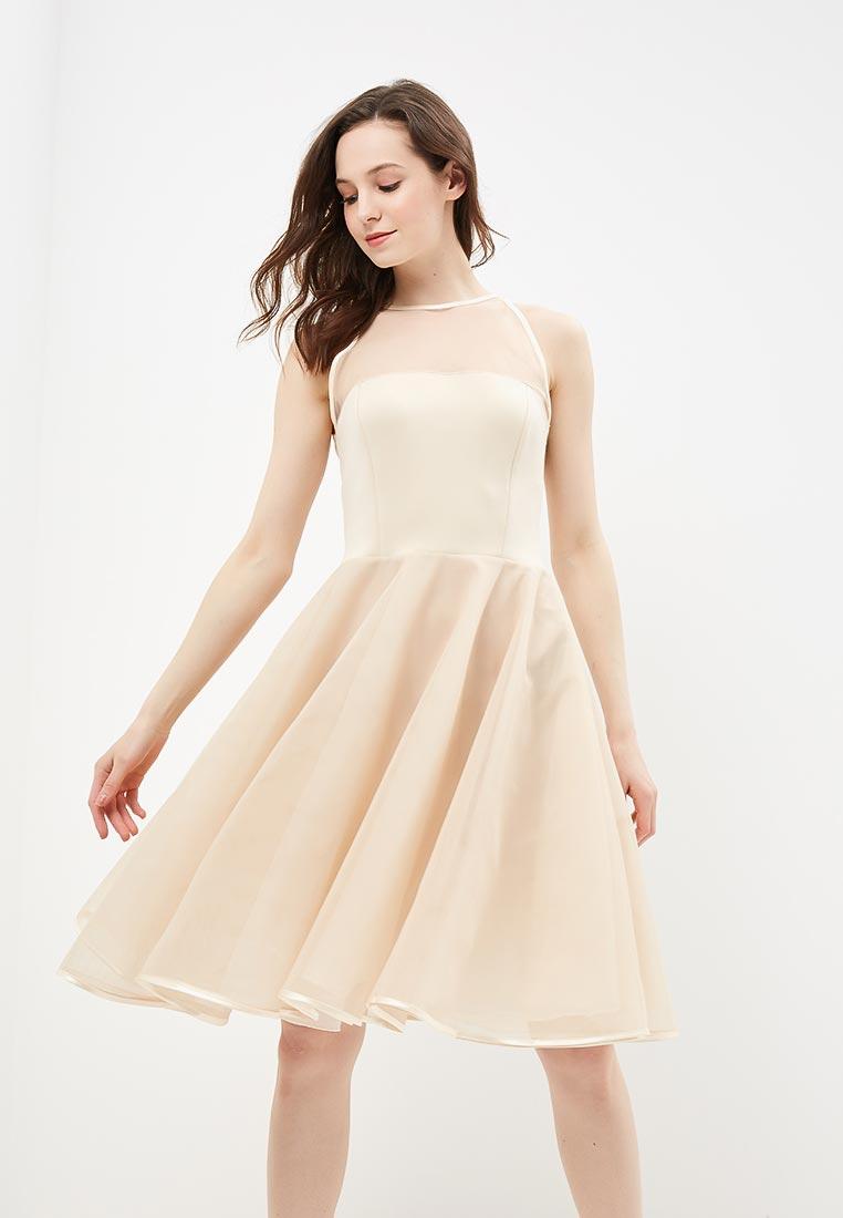 Вечернее / коктейльное платье Stylove S001-beige