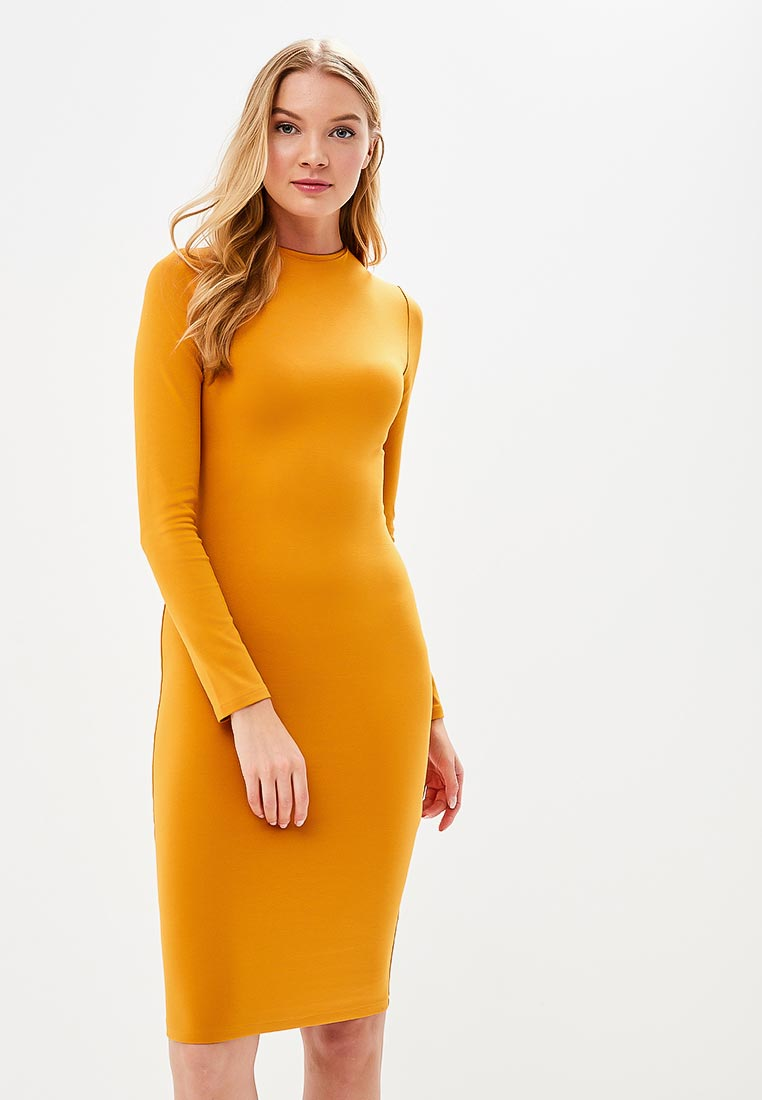 Платье Stylove S033-dark yellow