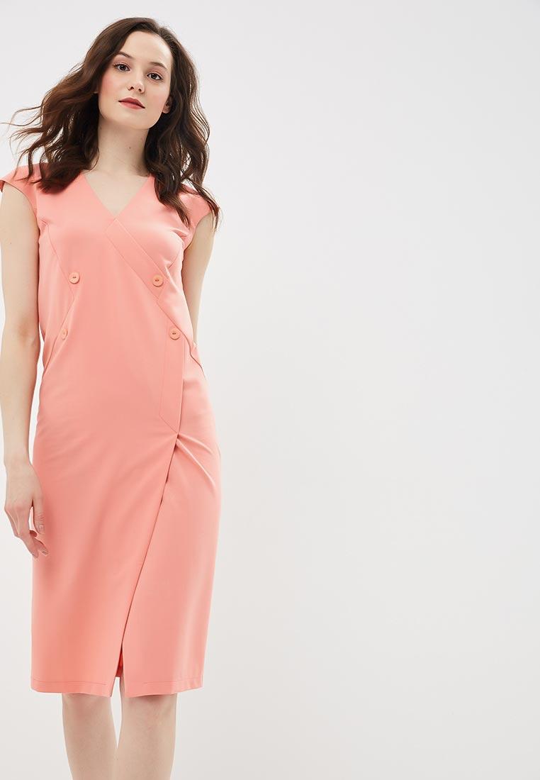 Платье Stylove S068-salmon pink
