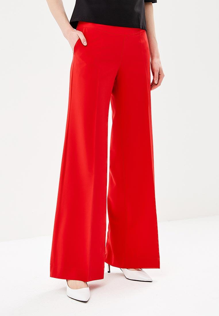Женские широкие и расклешенные брюки Stylove S034-navy blue