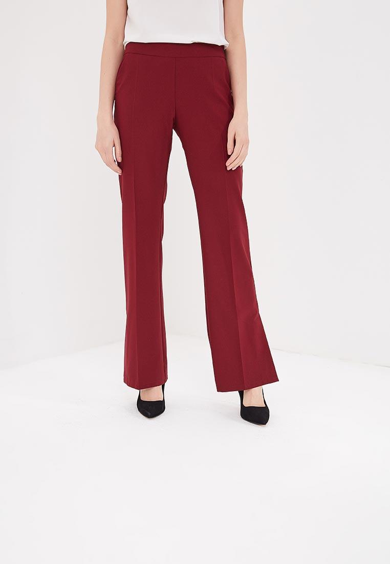 Женские широкие и расклешенные брюки Stylove S086-maroon