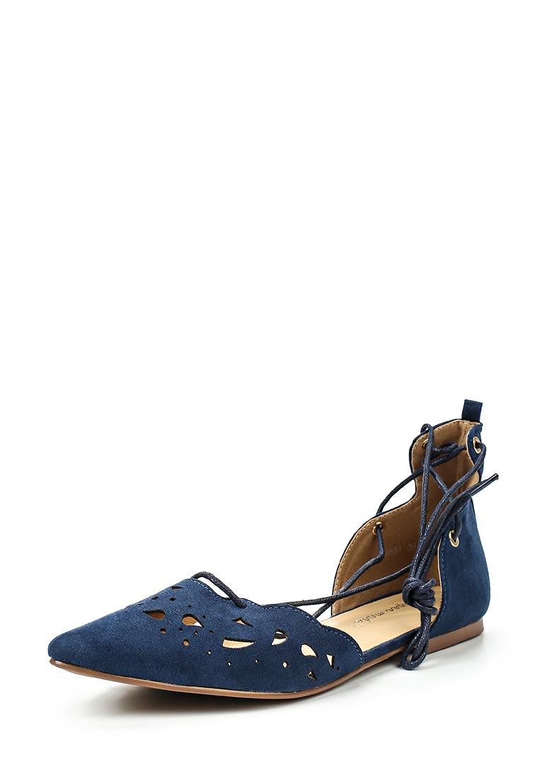 Туфли на плоской подошве Super Mode F52-9881