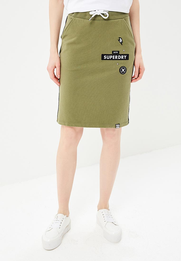 Прямая юбка Superdry G72001SQ