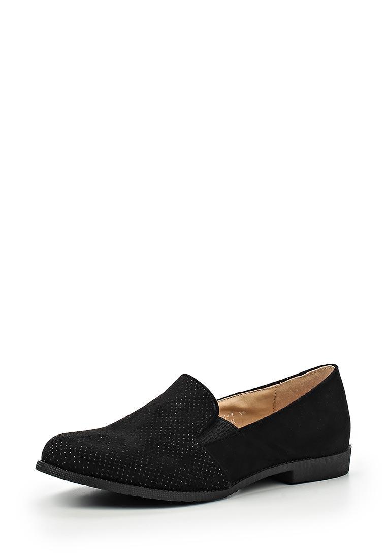 Туфли на плоской подошве Sweet Shoes F20-B-BL2505