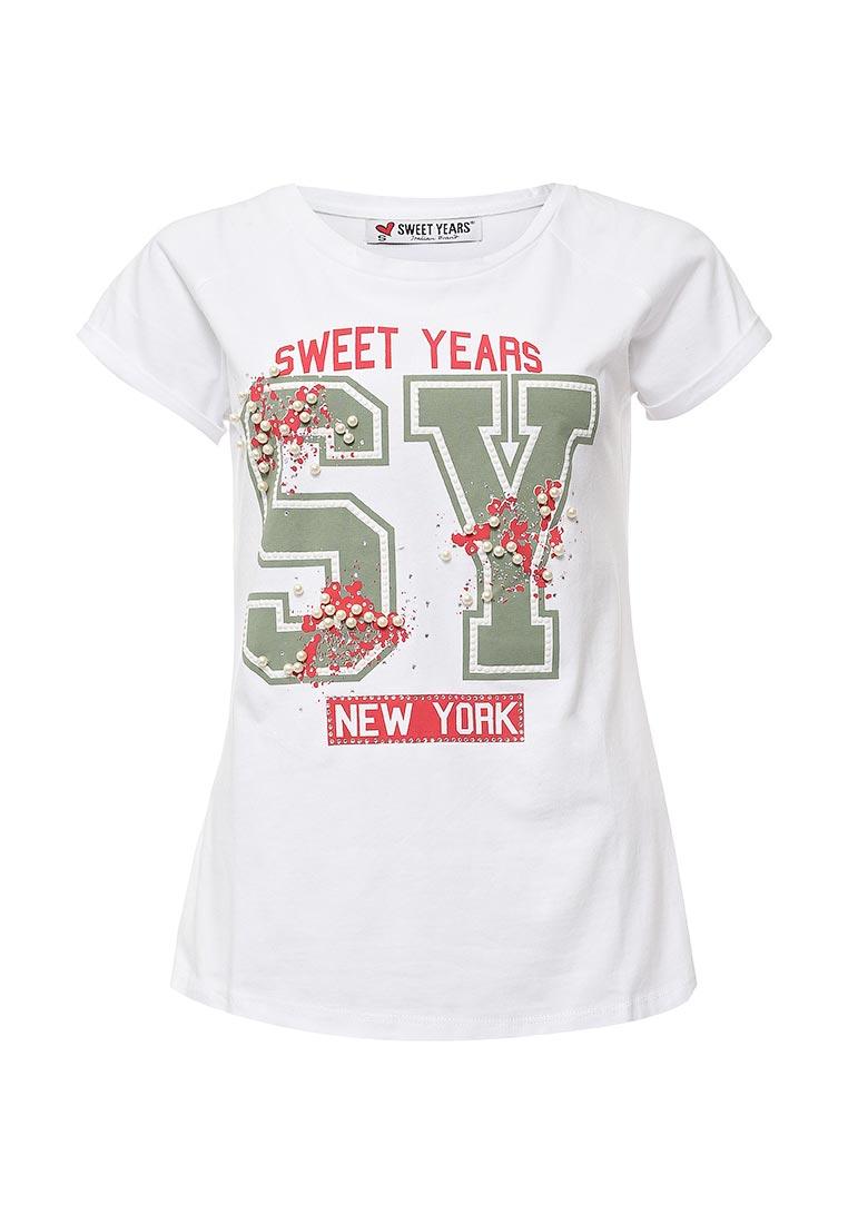 Футболка с коротким рукавом Sweet years SD34SWT00023