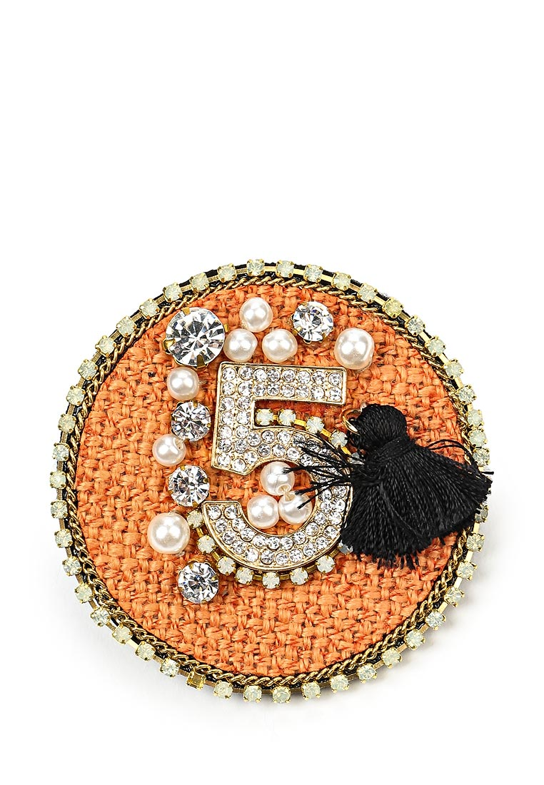 Брошь Taya T-B-12549-BROOCH-ORANGE
