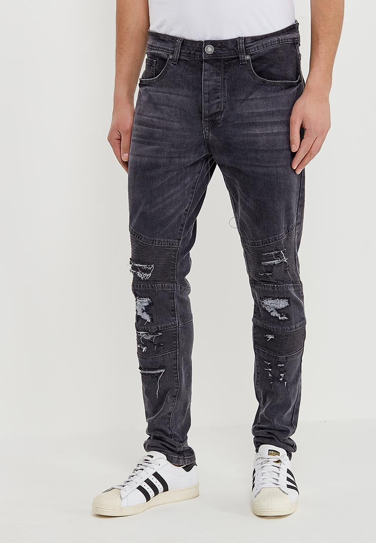 Зауженные джинсы Terance Kole 72126