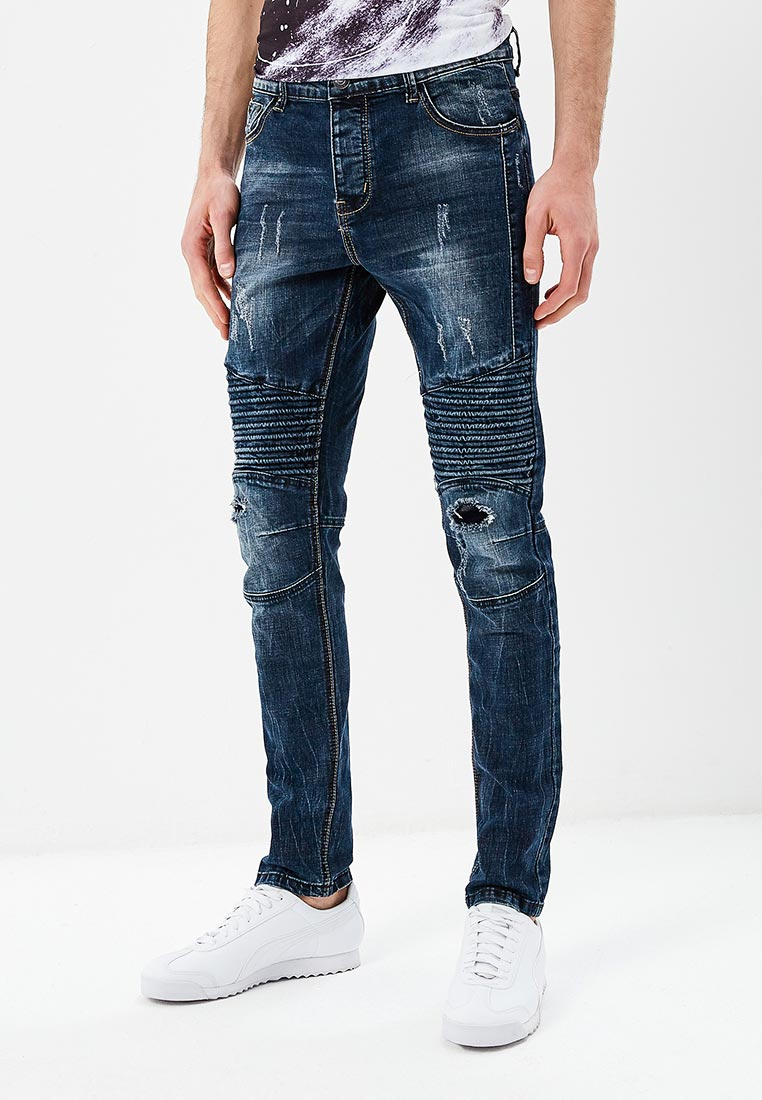 Зауженные джинсы Terance Kole 72135