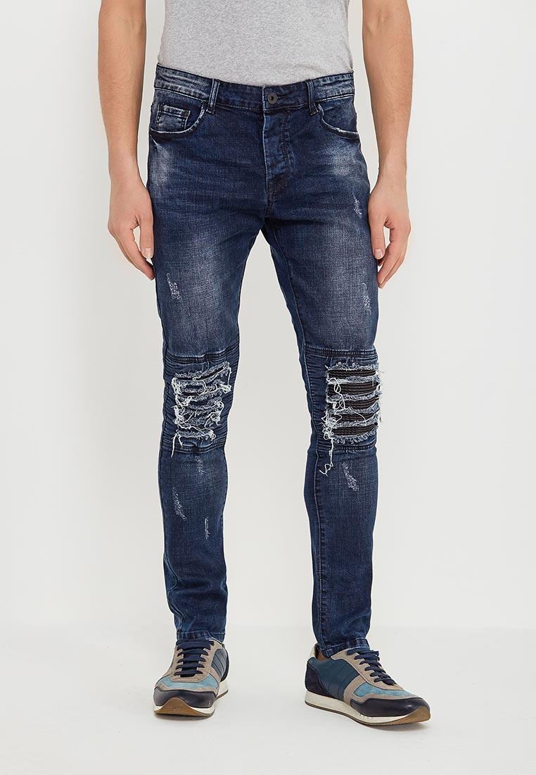 Зауженные джинсы Terance Kole 72137
