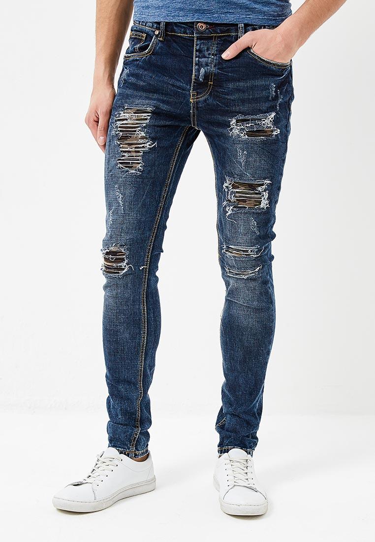 Мужские прямые джинсы Terance Kole 72153