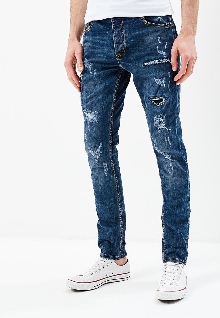 Зауженные джинсы Terance Kole 72155