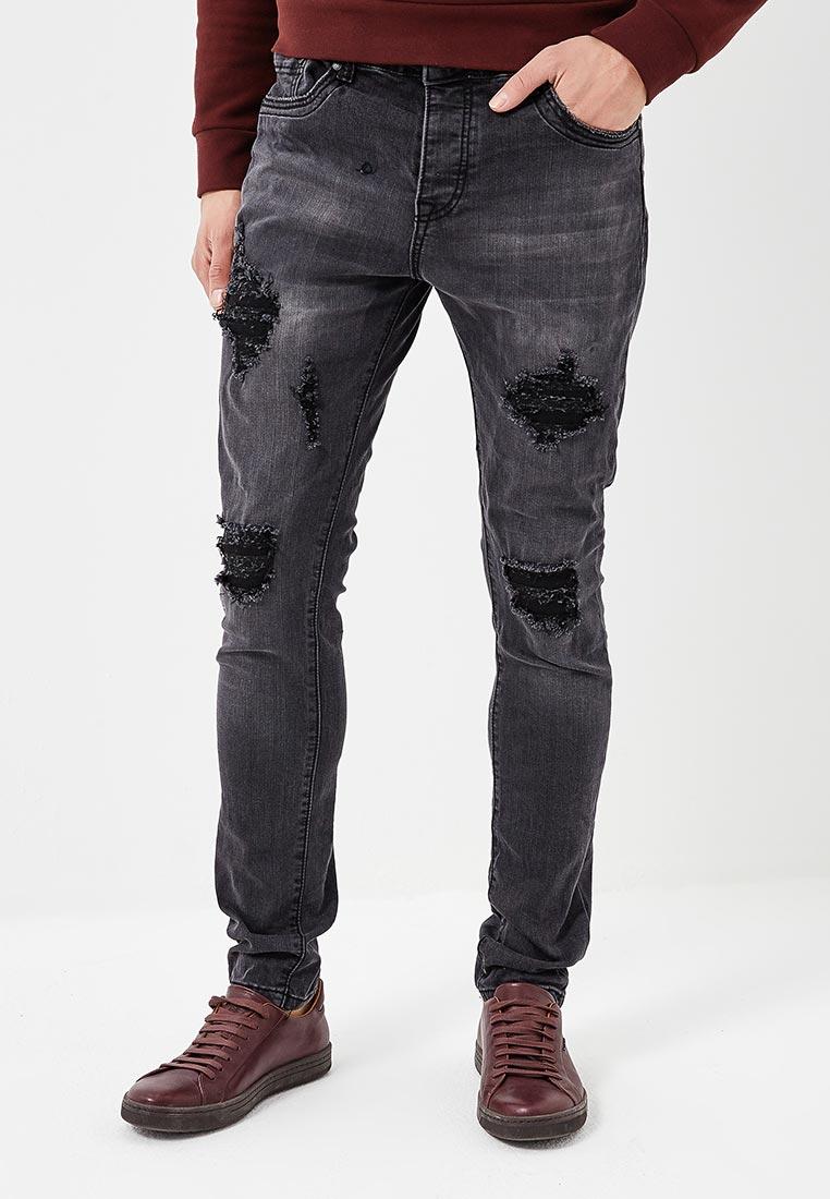 Зауженные джинсы Terance Kole 72156