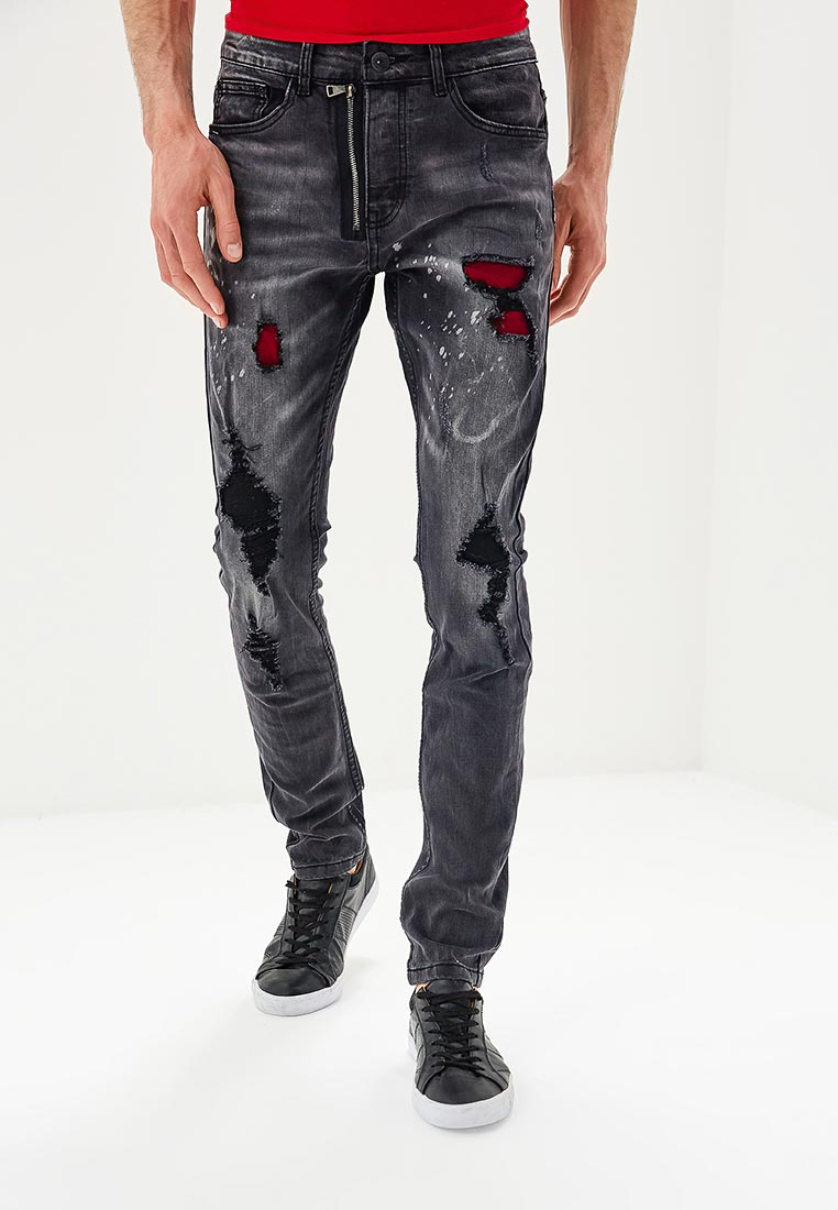 Зауженные джинсы Terance Kole 72161