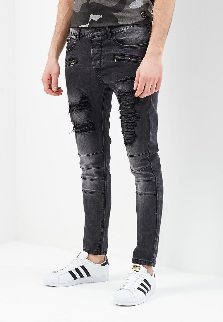 Зауженные джинсы Terance Kole 72163