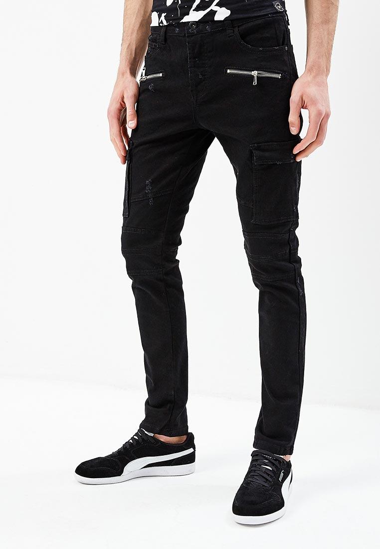 Зауженные джинсы Terance Kole 72179